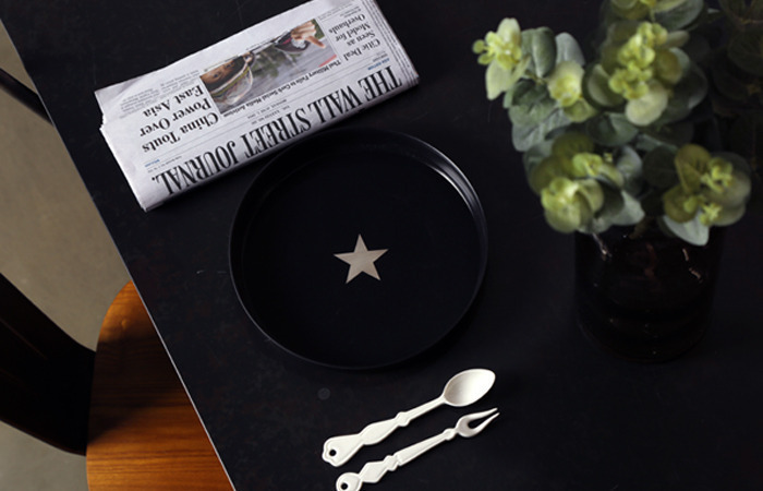 STAR TRAY (black)