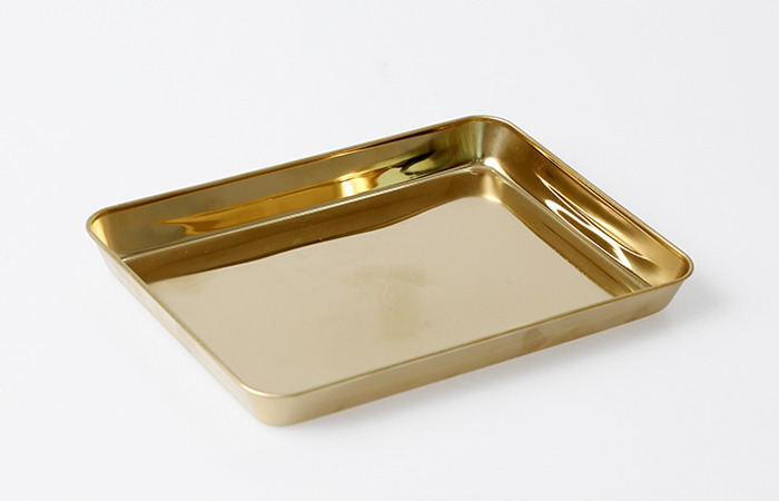perfect gold tray