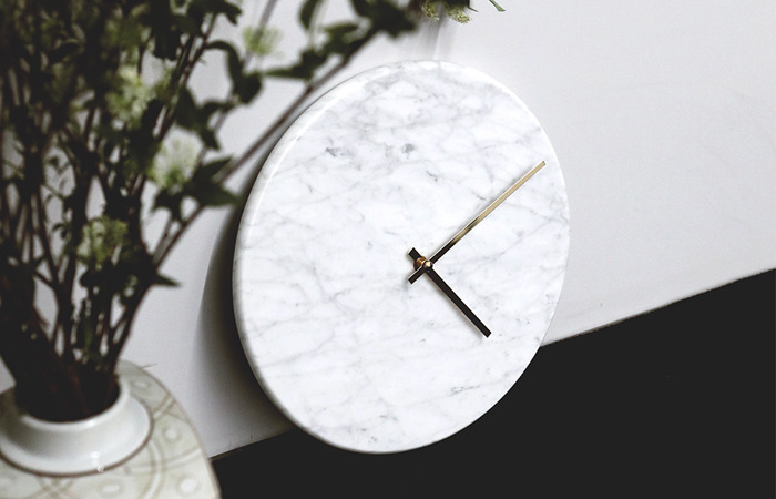 MARBLE WALL CLOCK [30% SALE]
